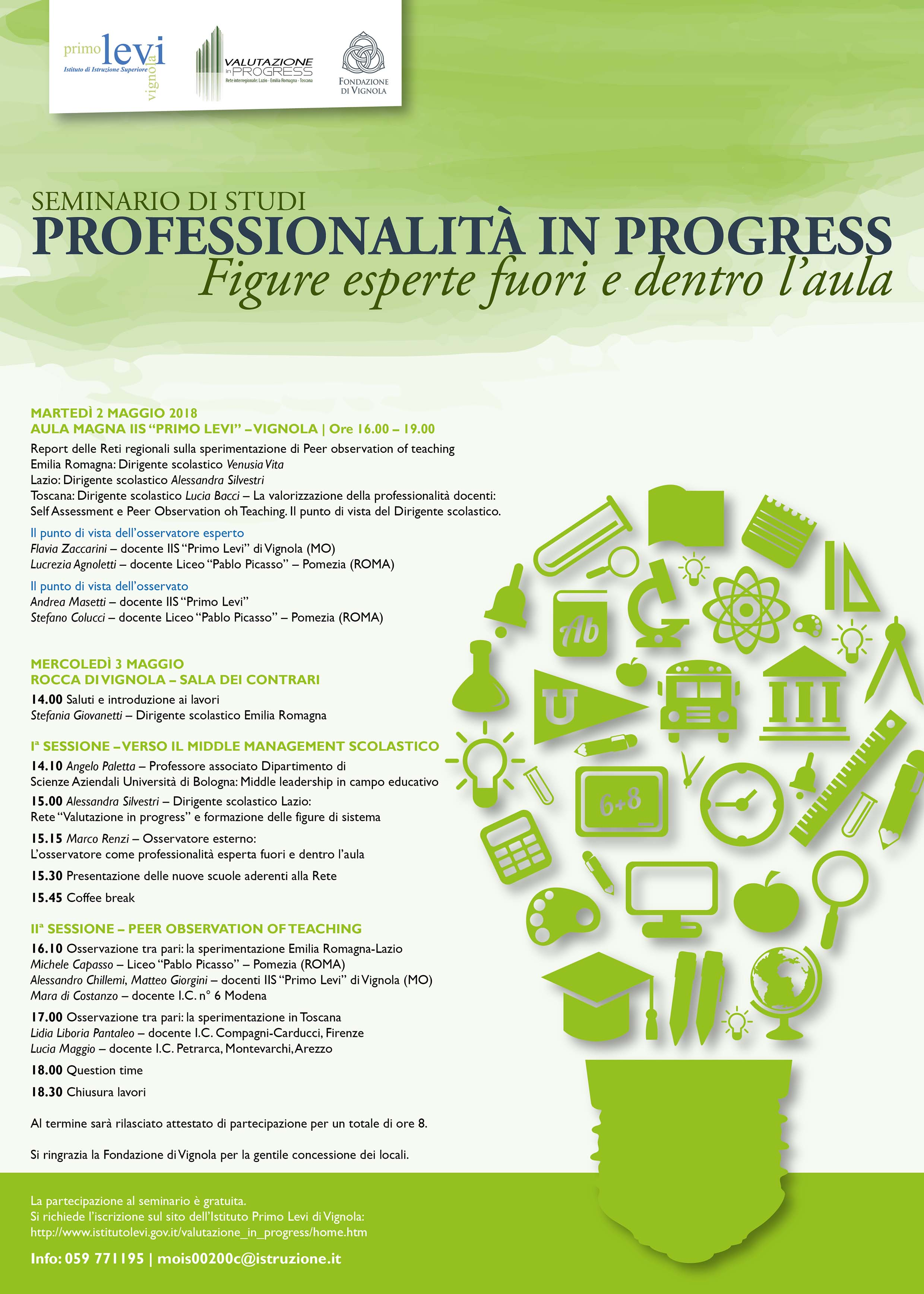 Seminario studi Professionalita  in progress